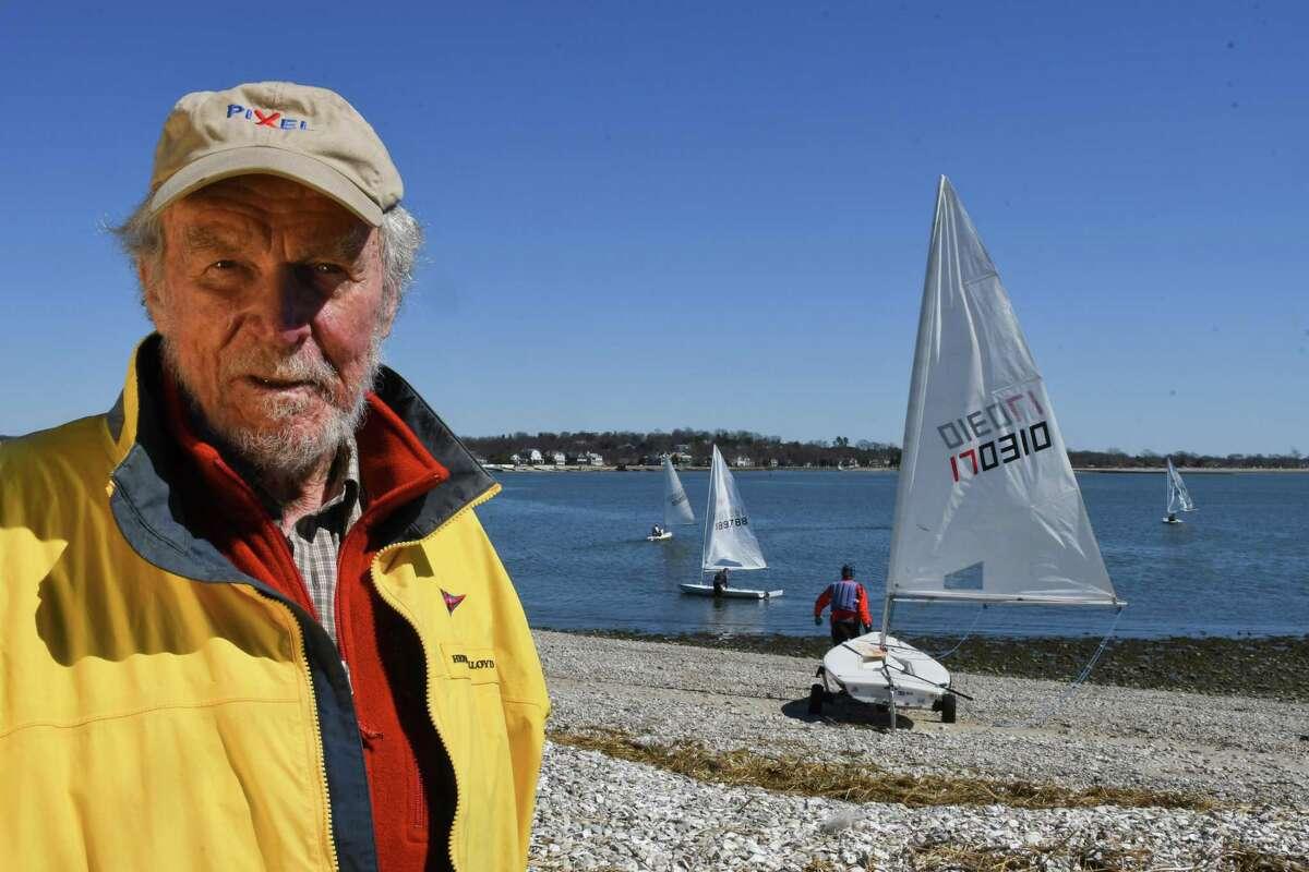 Racing sailboat designer Bruce Kirby.