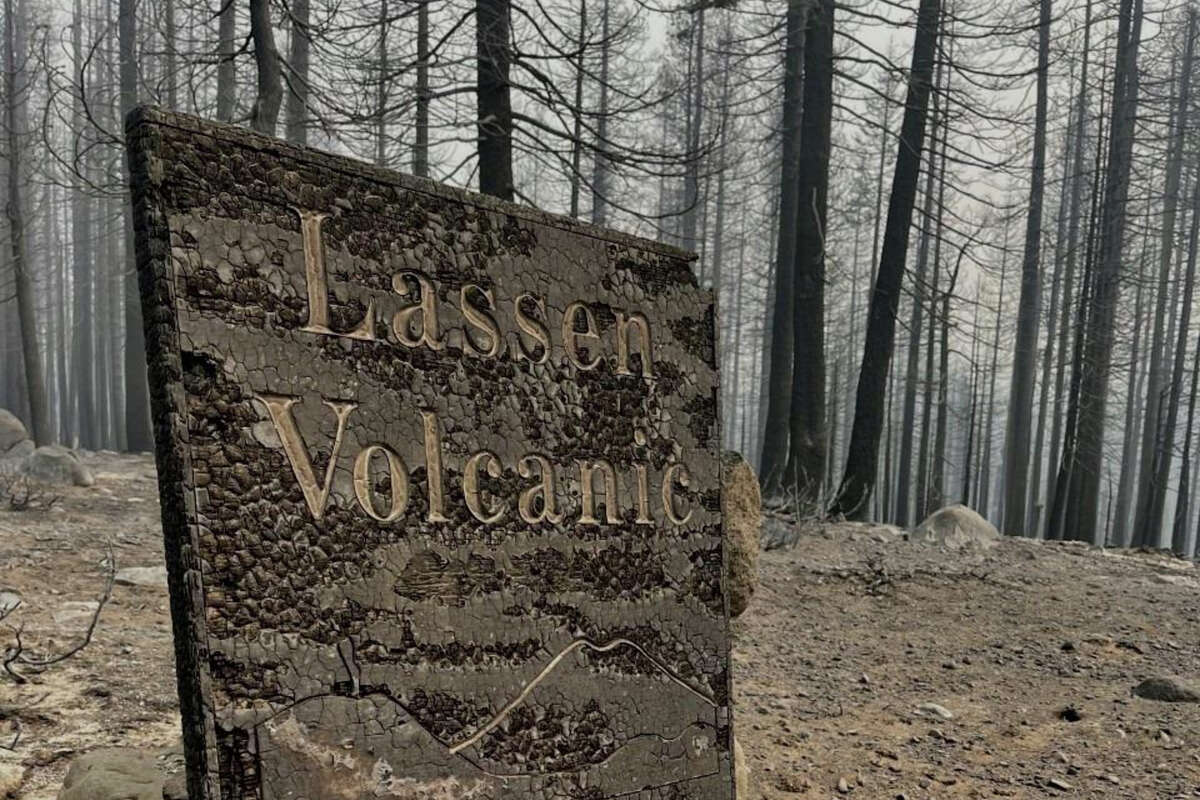 The Dixie Fire burned through the Juniper Lake area of Lassen Volcanic National Park, where it destroyed seven of eight historical cabins.