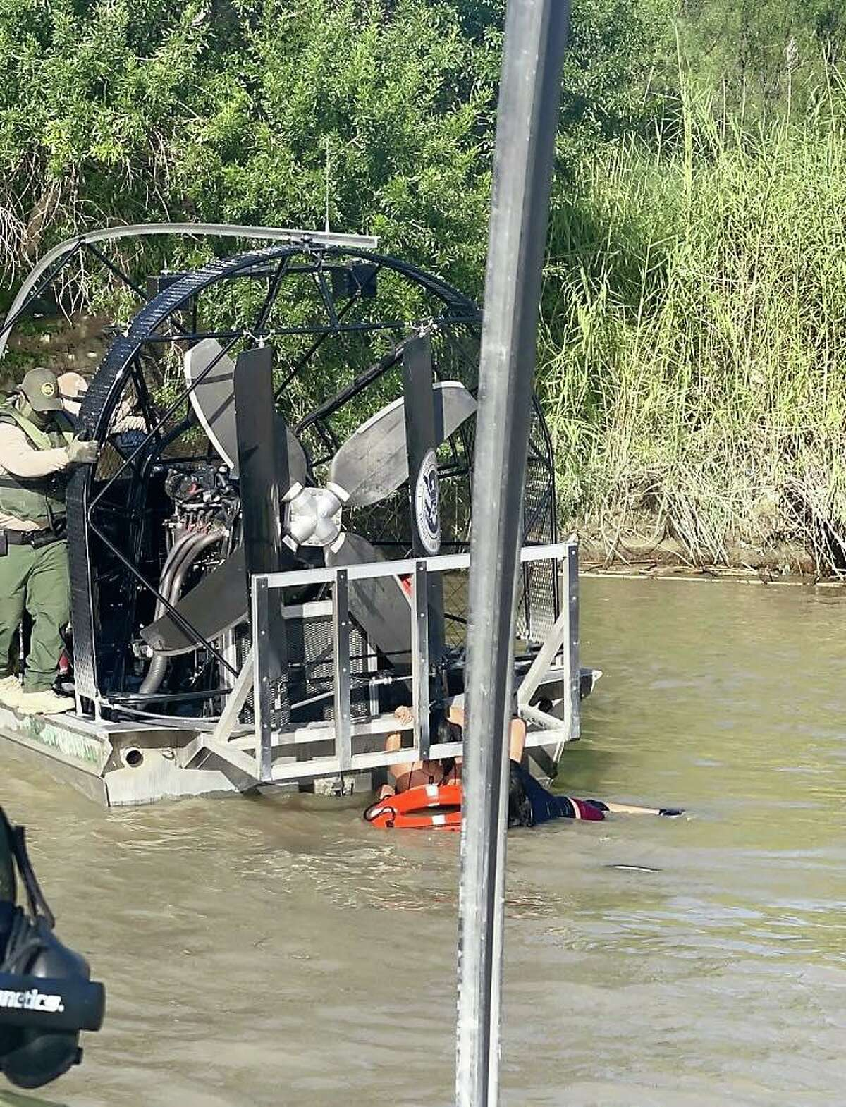 The U.S. Border Patrol's Marine Unit recently stopped a pair of incidents involving migrants attempting to swim across the Rio Grande and enter the country illegally.