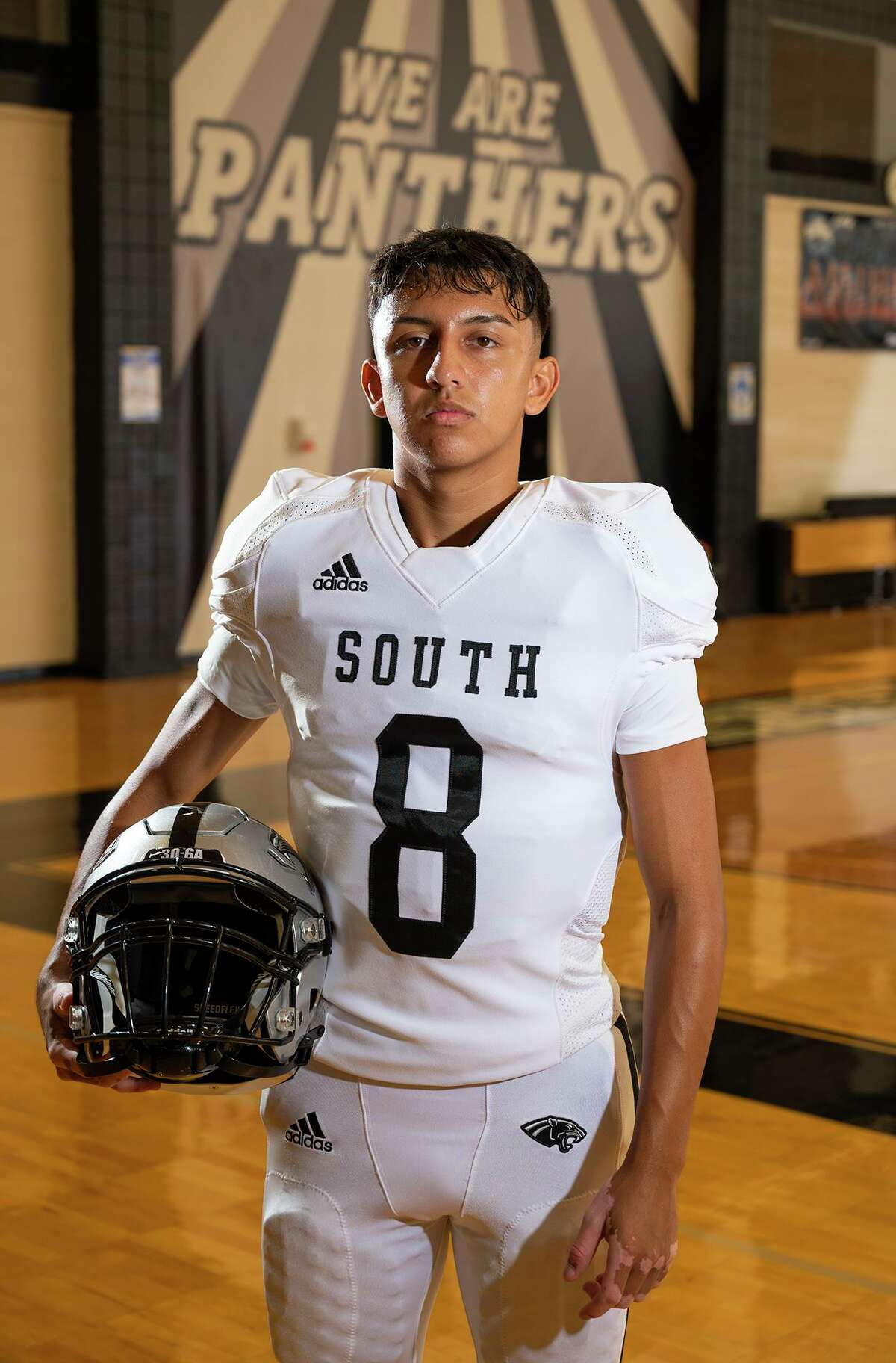 United South sophomore Luis Cisneros was named the starting quarterback after not making the team in his freshman season.