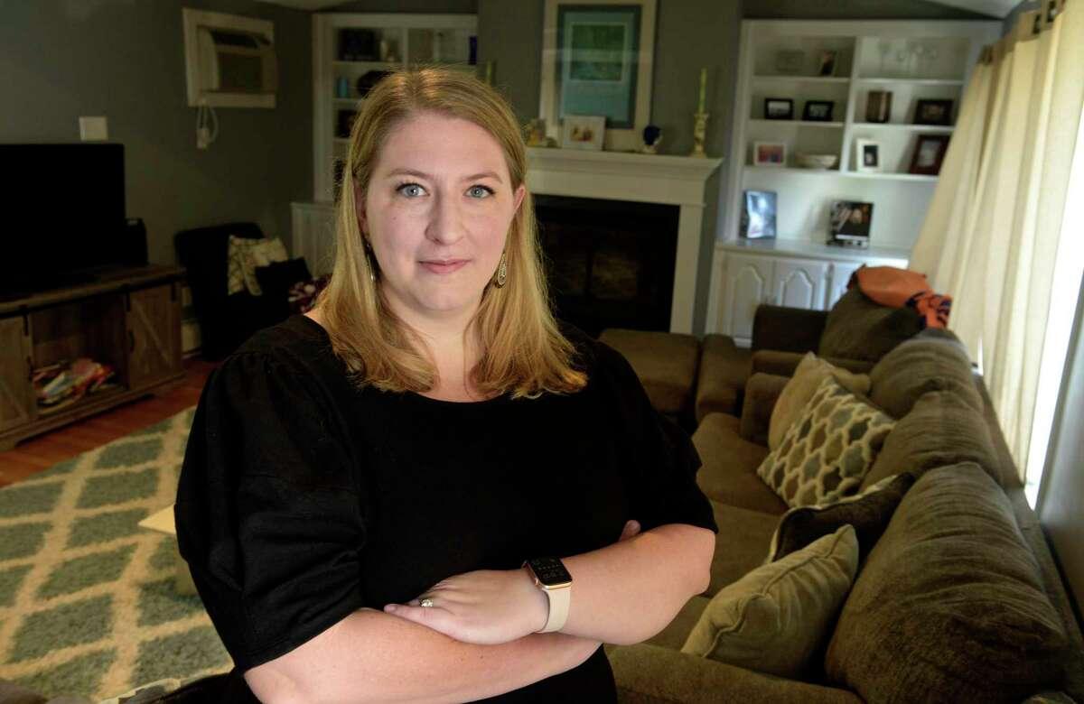 FILE PHOTO: Connecticut Public Utilities Regulatory Authority chair Marissa Gillett in her West Hartford home.