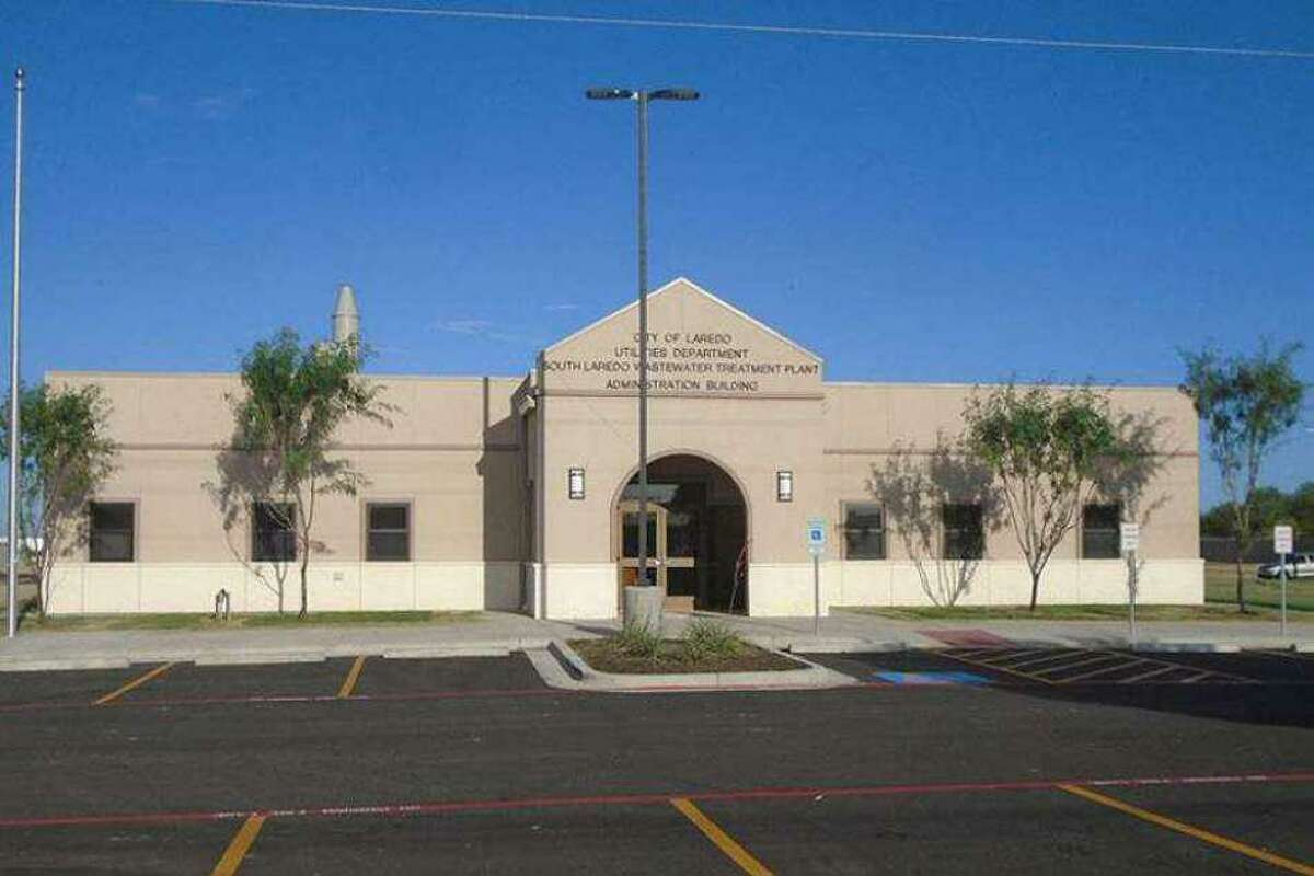 Pictured is the City of Laredo Utilities Department. It has informed the community of the water treatment free chlorine conversion extension which will end on Sept. 6.