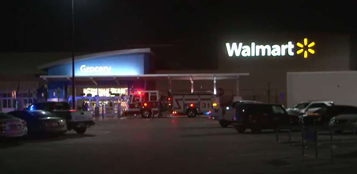 A shooting outside of a Walmart killed one and injured another Tuesday morning, according to Houston police.