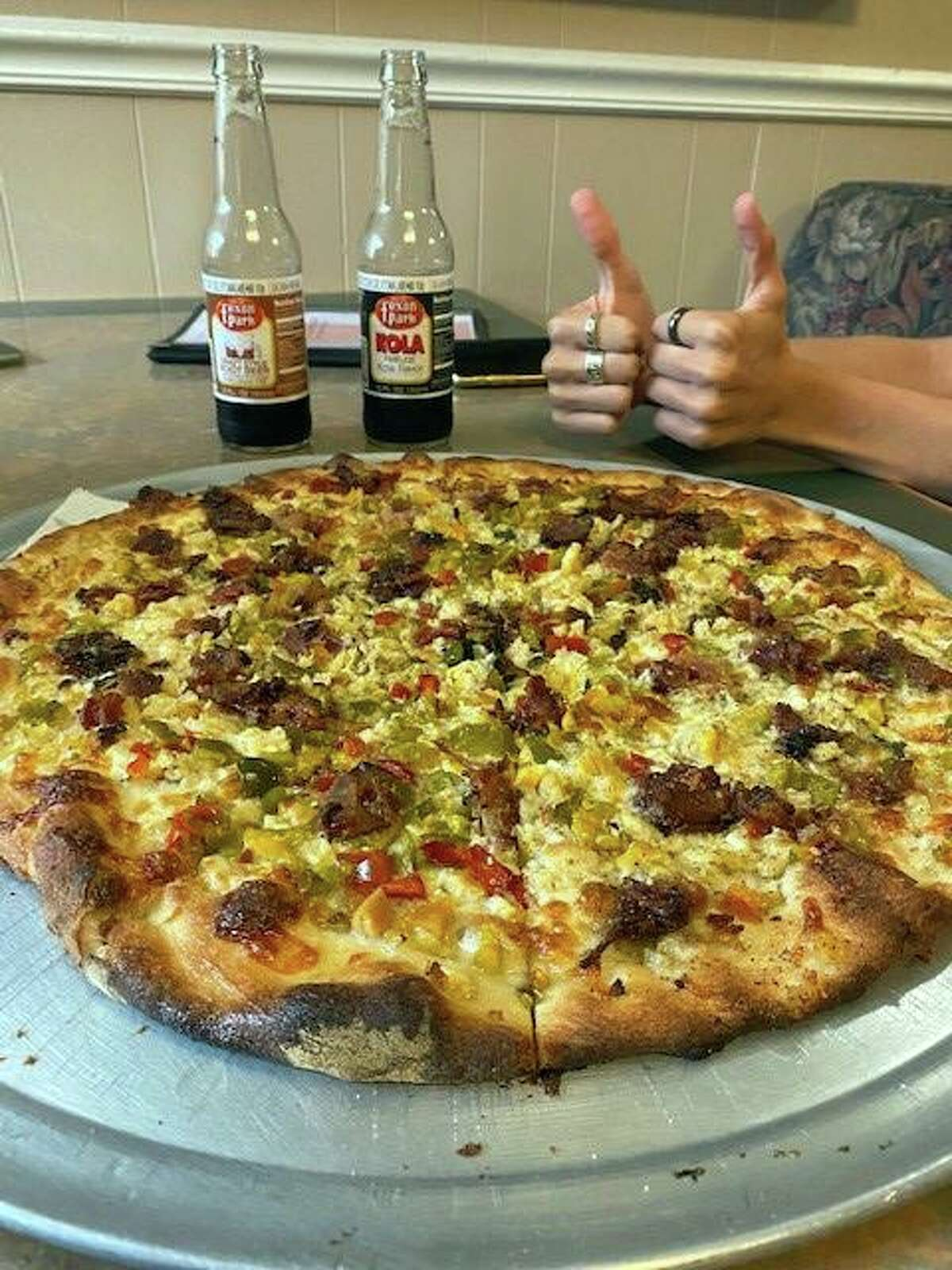 Ordering another soda instead of Foxon Park with your pizza - blasphemous, Vinnie Penn says.