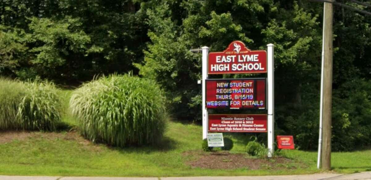 East Lyme High School is located at 30 Chesterfield Road.