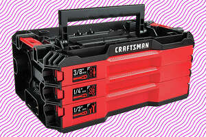 CRAFTSMAN Mechanics Tools Kit with 3 Drawer Box, 216-Piece  for $119 at Amazon
