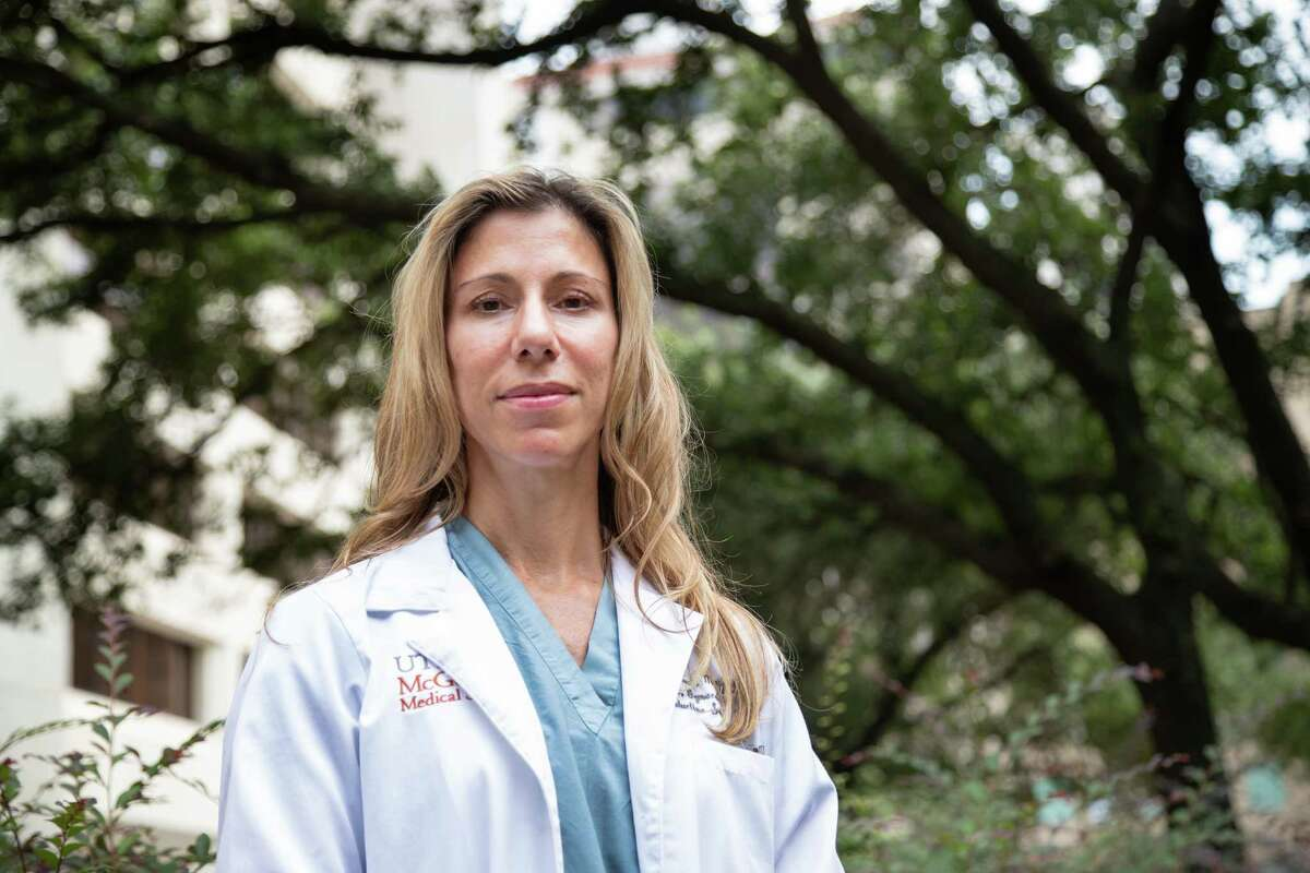 UTHealth McGovern Medical School department of obstetrics, gynecology, and reproductive sciences associate professor Irene Stafford, Wednesday, Aug. 4, 2021, in Houston.