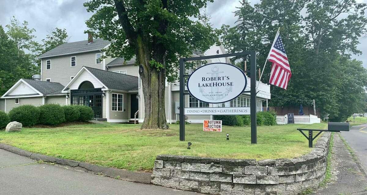 Robert's Lakehouse is located at 81 N. Main St. in East Hampton.