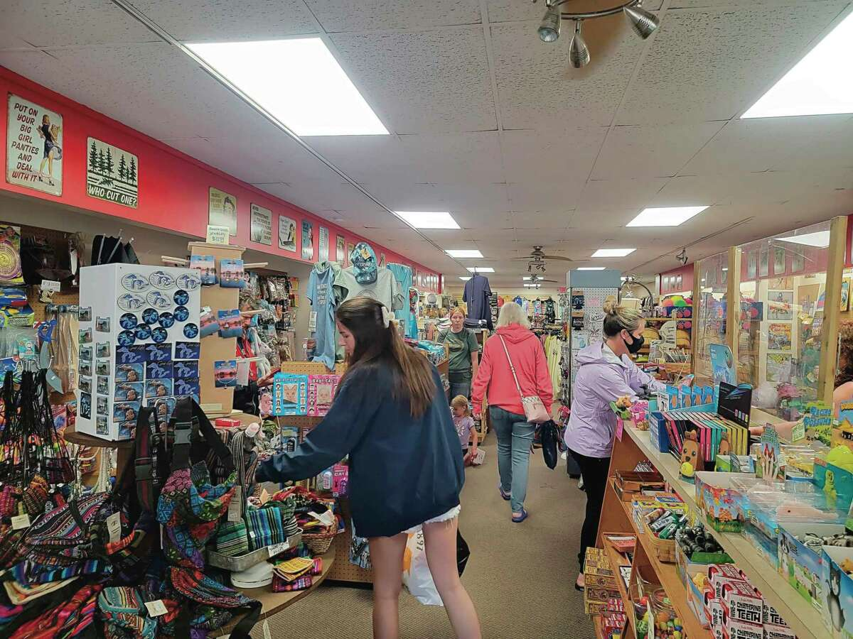Stores such as Frannie's Follies & Anet and Ollie's Five and Dime in downtown Frankfort are expected to see a boost in sales during the Ironman competition in September. (File photo)