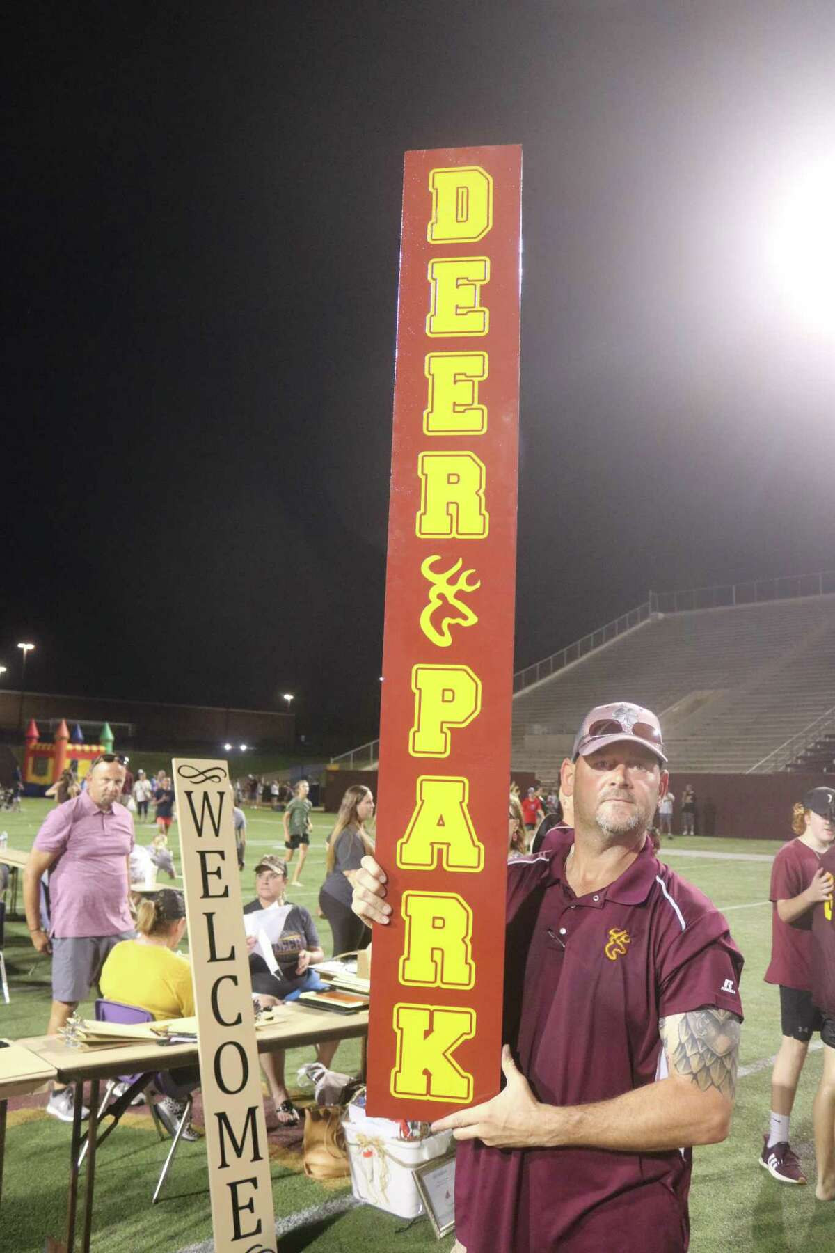 If it had anything to do with Deer Park, it was on the auction block last Saturday night during the Meet the Team festivities at Clyde Abshier Stadium.