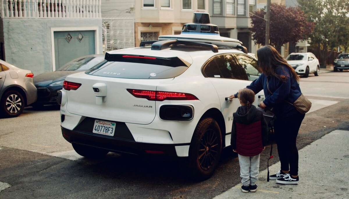 Waymo is now offering rides to selected San Franciscans in its autonomous Jaguar I-Pace cars.