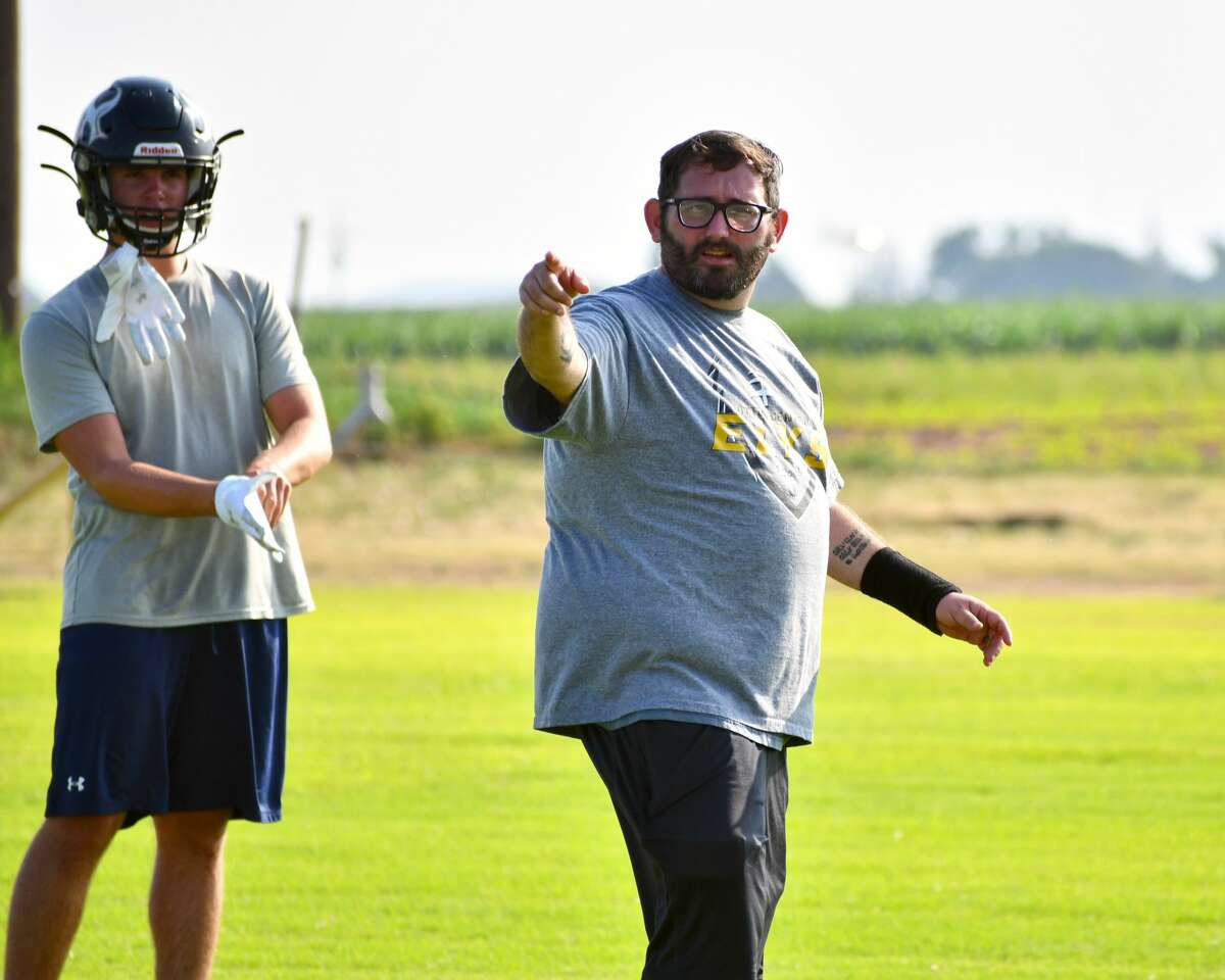 Head coach Cody Brewer and the Cotton Center football team look to excel with a mostly veteran squad.