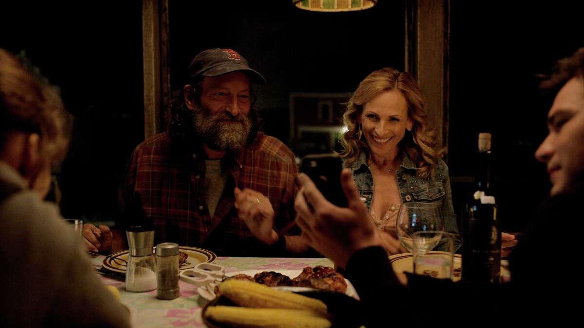 "From left: Emilia Jones, Troy Kotsur, Marlee Matlin and Daniel Durant in ""CODA."" MUST CREDIT: Apple TV Plus"