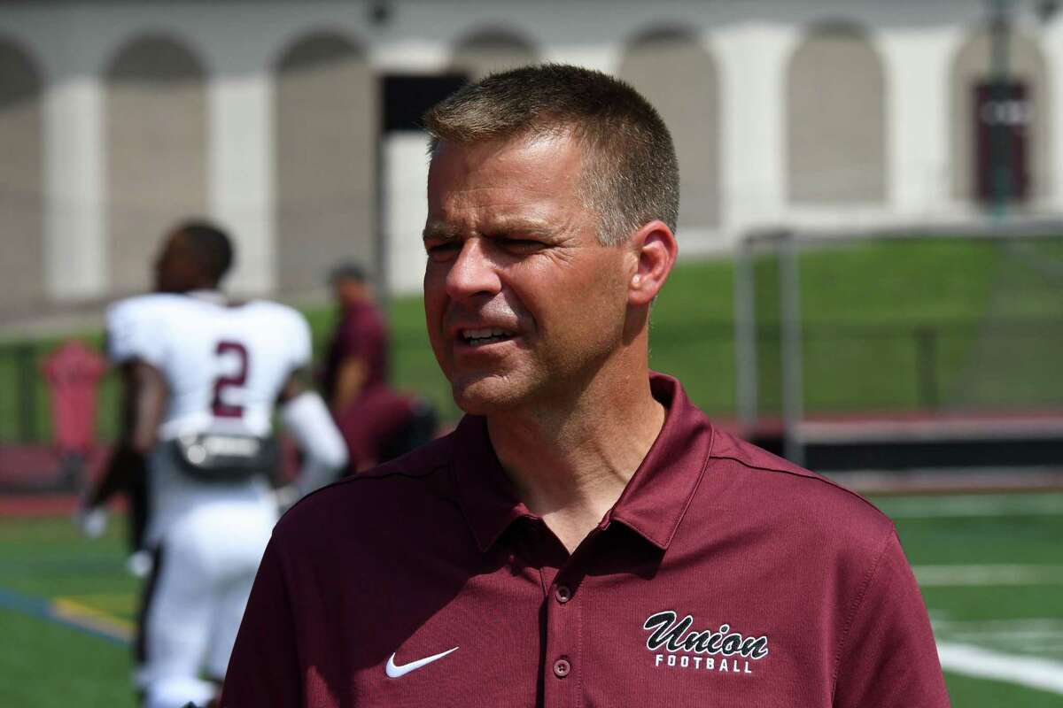 Union College football coach Jeff Behrman said he still gets nervous before games, and is happy his players got a chance to get back on the field after missing 2020 because of the coronavirus pandemic.