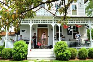 Porch Jam in Rowayton will have to wait another year to return due to the ongoing pandemic. The fundraiser benefits the Junior Art & Music organization.