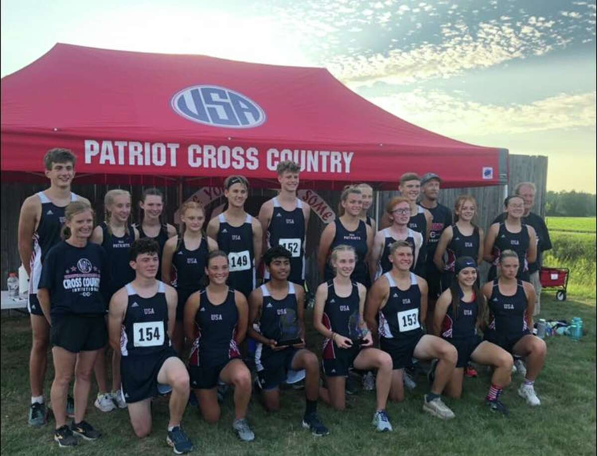 Cross country runners from around the Thumb converged on Sebewaing on Monday for the annual USA XC Invitational. Both the Patriot boys and girls teams placed first at the meet, with the Laker boys and Ubly, Laker and Cass City girls offering strong performances.