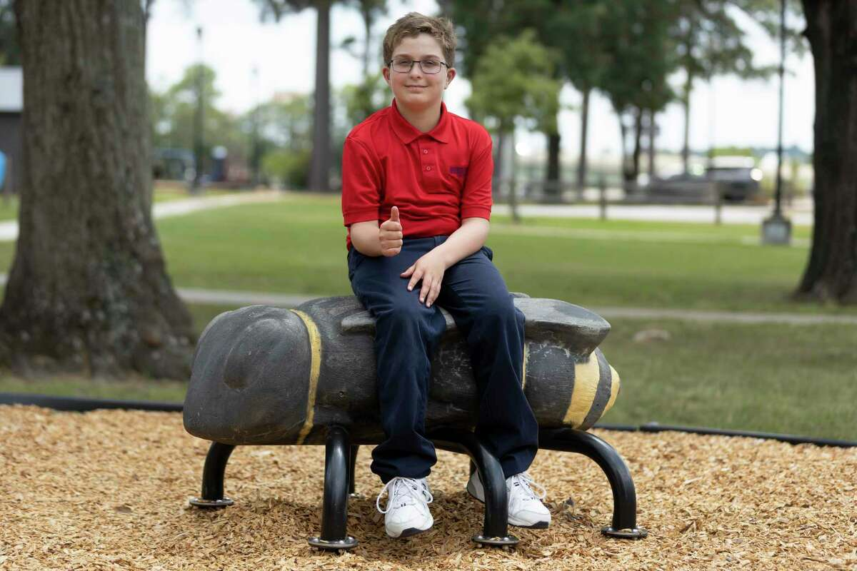 David Taylor, 10, recently participated in the Johns Hopkins Center for Talented Youth and received high honors and advanced scores in the verbal assessments despite severe hearing loss.