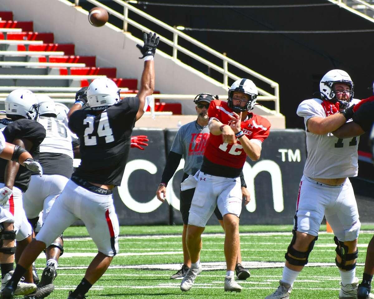 Oregon transfer Tyler Shough has officially been named Texas Tech's starting quarterback for the Sept. 4 season opener against Houston.