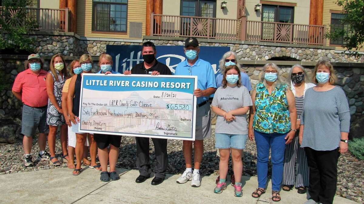 In July, Little River Casino hosted its 21st annual Little River Charity Outing, drawing 160 golfers while raising $64,580 to benefit charities within Manistee and the surrounding areas. (Courtesy Photo)