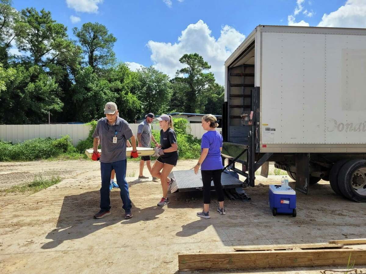Cypress Assistance Ministries has received new coolers for their pantry for clients.