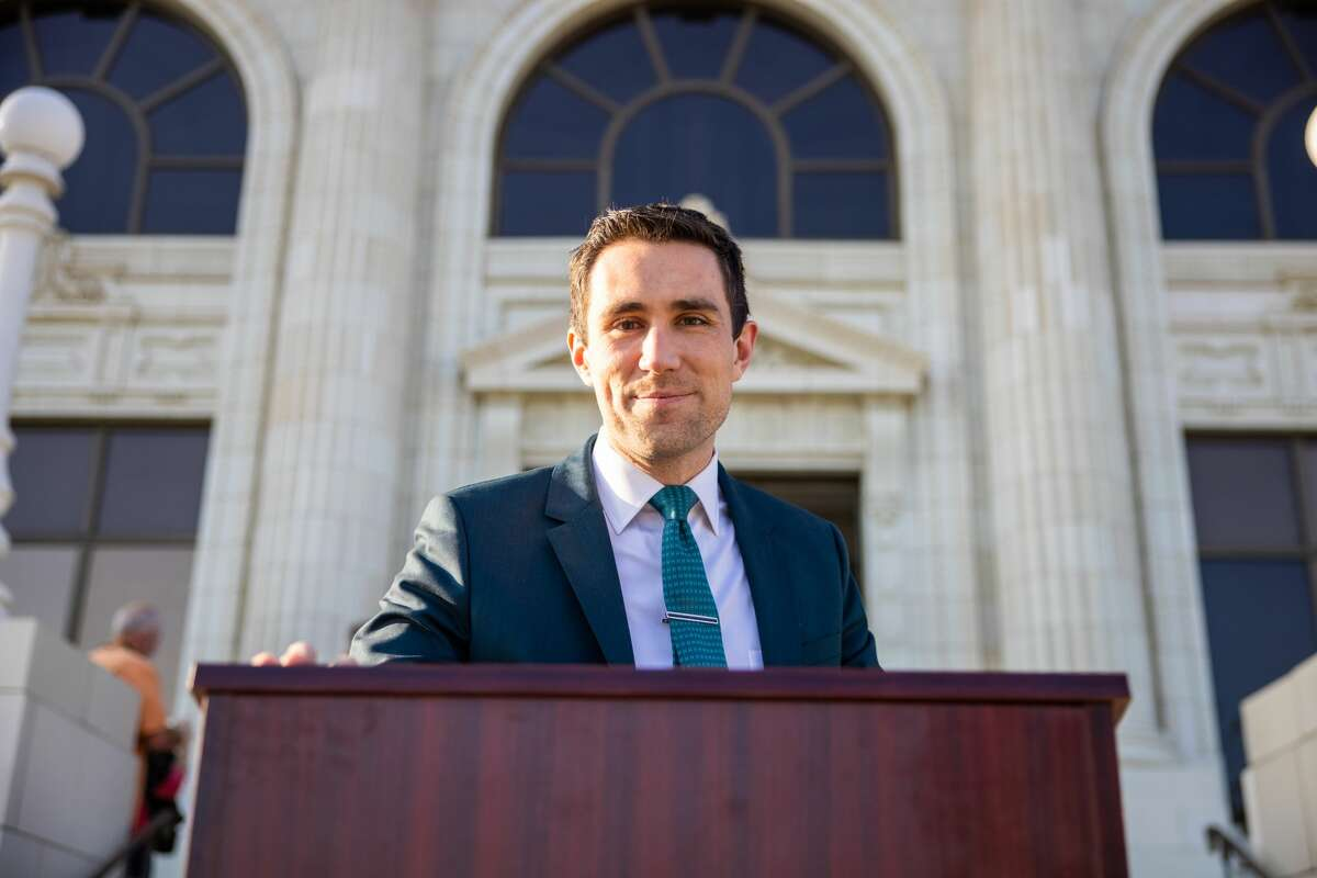 A photo of Kevin Paffrath, California Democratic gubernatorial candidate, provided by his campaign.