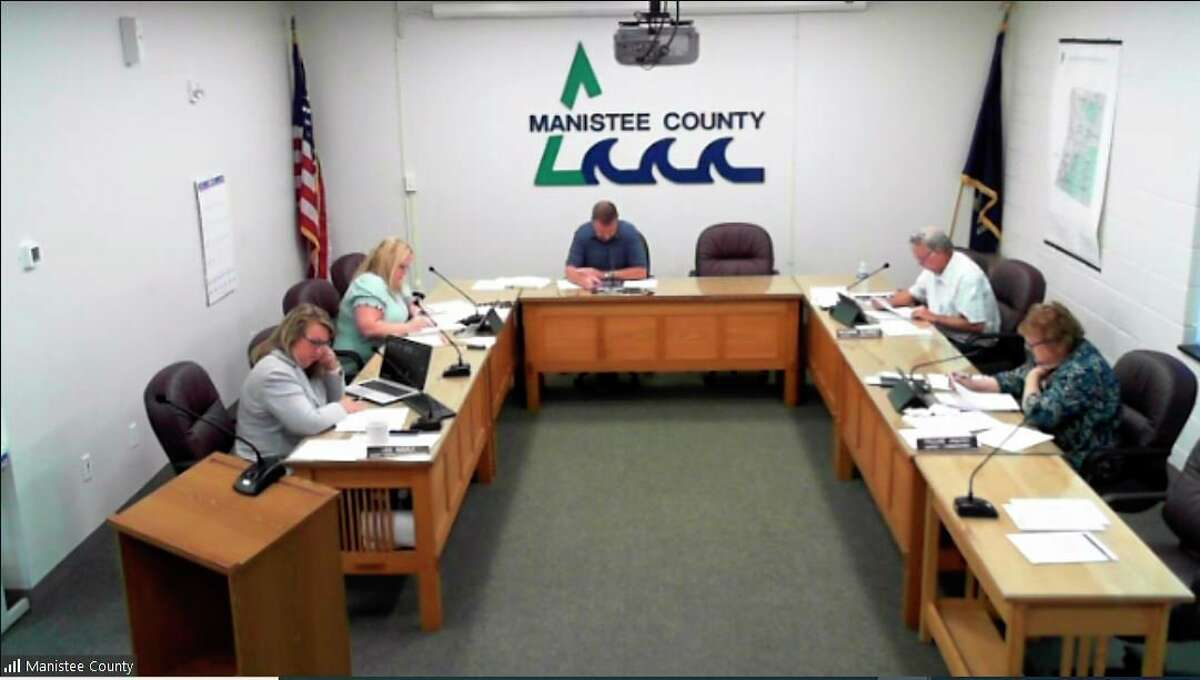 The Manistee County Board of Commissioners met Aug. 24 to discuss a slew of issues, including the tentative county budget, upcoming strategic plan update and other issues. (Screenshot/Zoom)