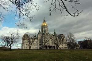 The state capitol in Hartford, Conn., on Sunday Jan. 17, 2020.