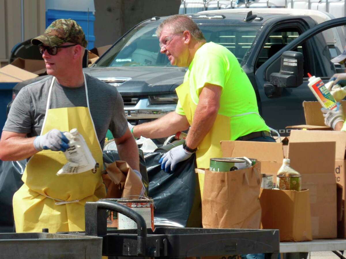 Manistee Conservation District's annual Household Hazardous Waste Collection was held on Saturday. (File photo)