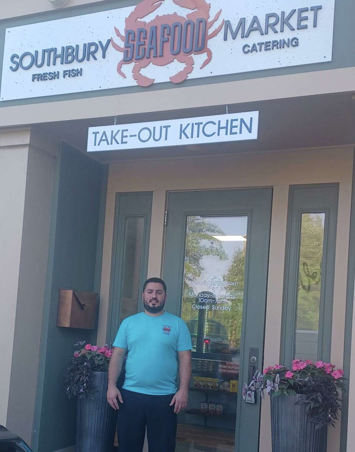 Roy Khalil, owner of the Southbury Seafood Market.