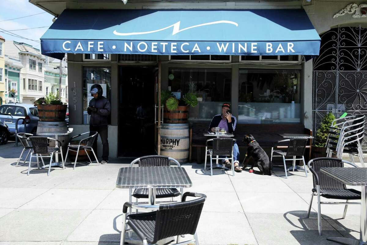 Noeteca looks just like most cute neighborhood wine bars from the outside, but it's actually a gathering spot for Brazilian immigrants who come for the restaurant's transportive cooking.