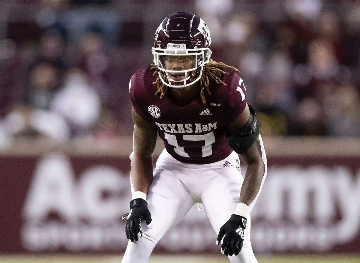 As a freshman in 2020, Texas A&M cornerback Jaylon Jones started all 10 games and led the Aggies with six passes broken up.
