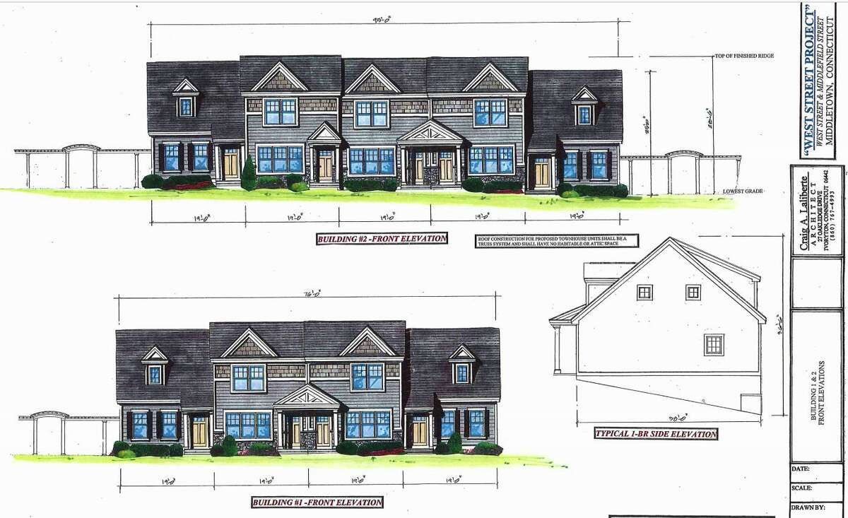 Renderings for the West Street Project at 61 West St., Middletown
