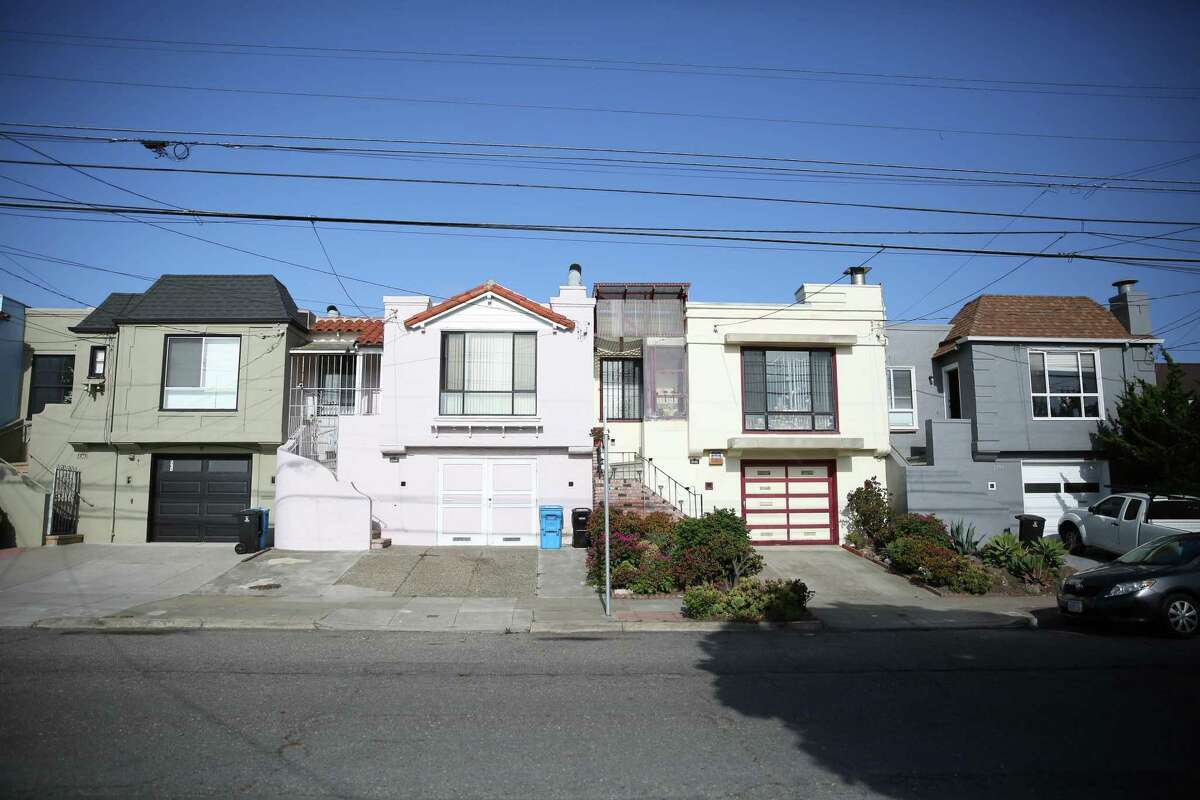 Single-family homes in San Francisco's Sunset District.