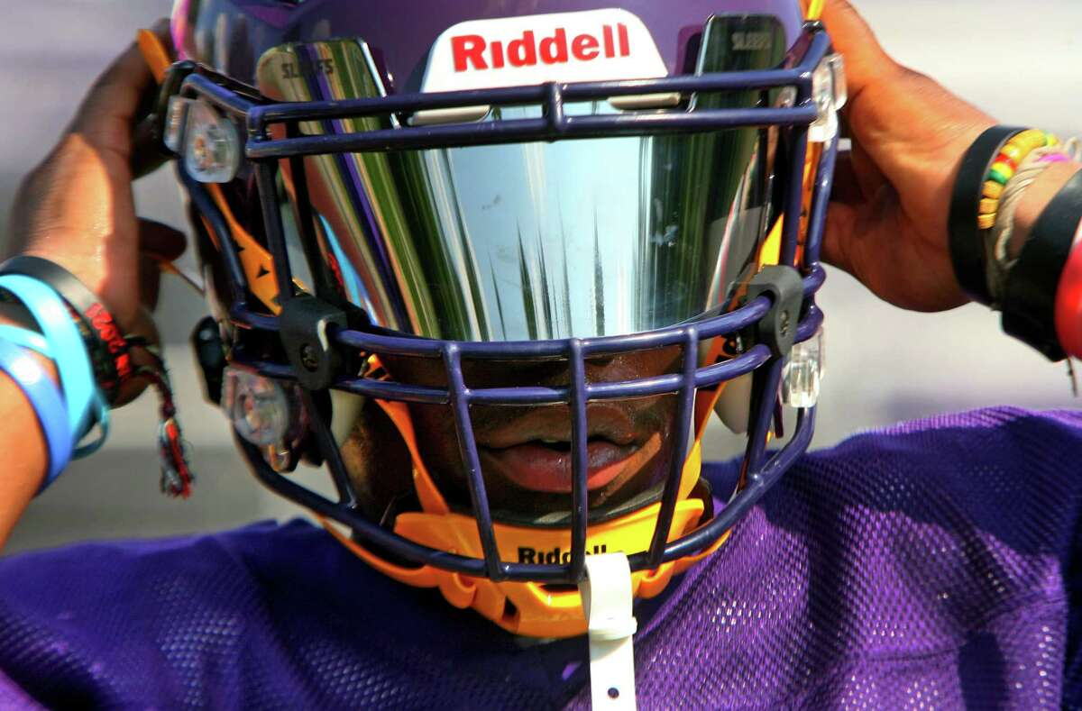 The Westhill High School football team practices at the school in Stamford, Conn., on Tuesday August 24, 2021.