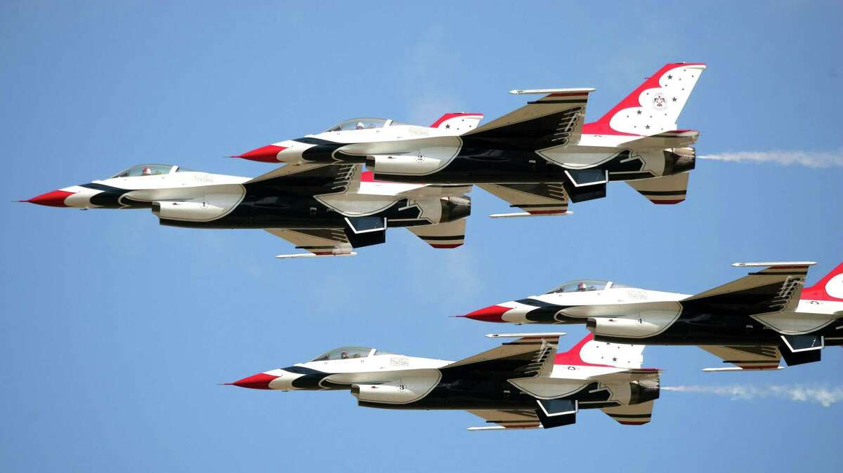 This year's display will feature an all-new routine by the United States Air Force Thunderbirds.