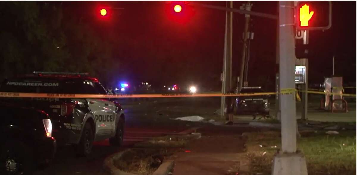 A woman died after a vehicle hit her in the area of Selinsky Road and Martin Luther King Boulevard around midnight, according to Metro Video.