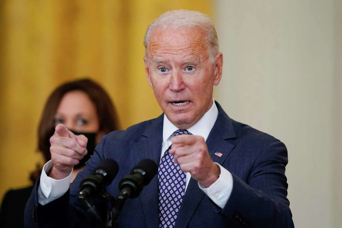 Much of what President Joe Biden has said about the Afghanistan withdrawal has been vulnerable to instant fact checks.