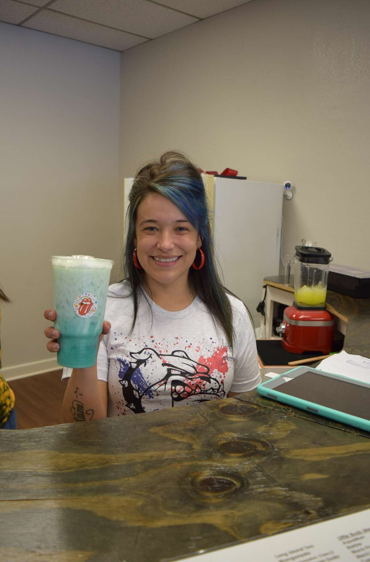 Giovanna Batres opened Rock'N Buds in March.