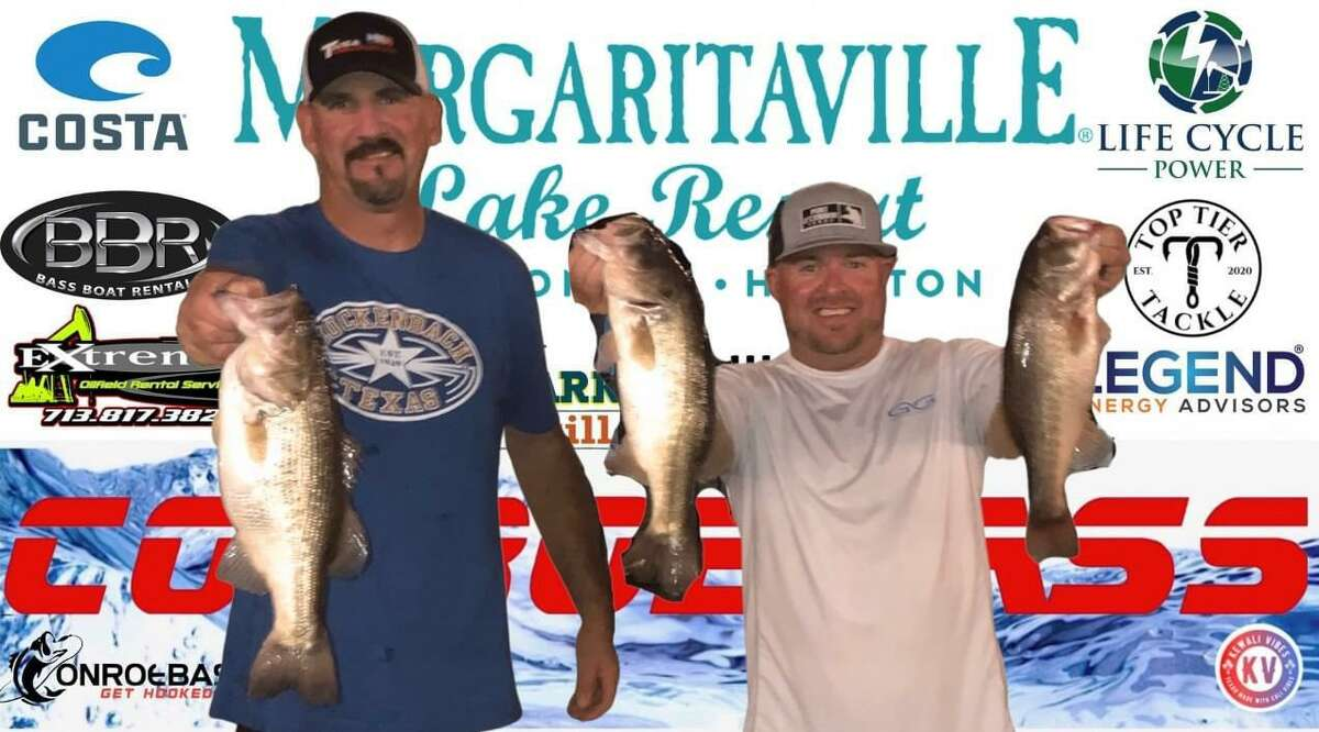 Julian Clepper and Tony Murray came in third place in the CONROEBASS Tuesday Tournament with a weight of 8.50 pounds.