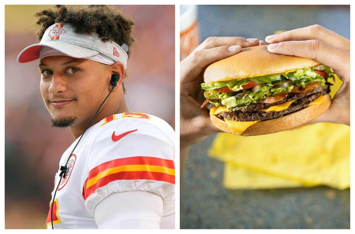Patrick Mahomes is bringing his favorite burger to Kansas City.