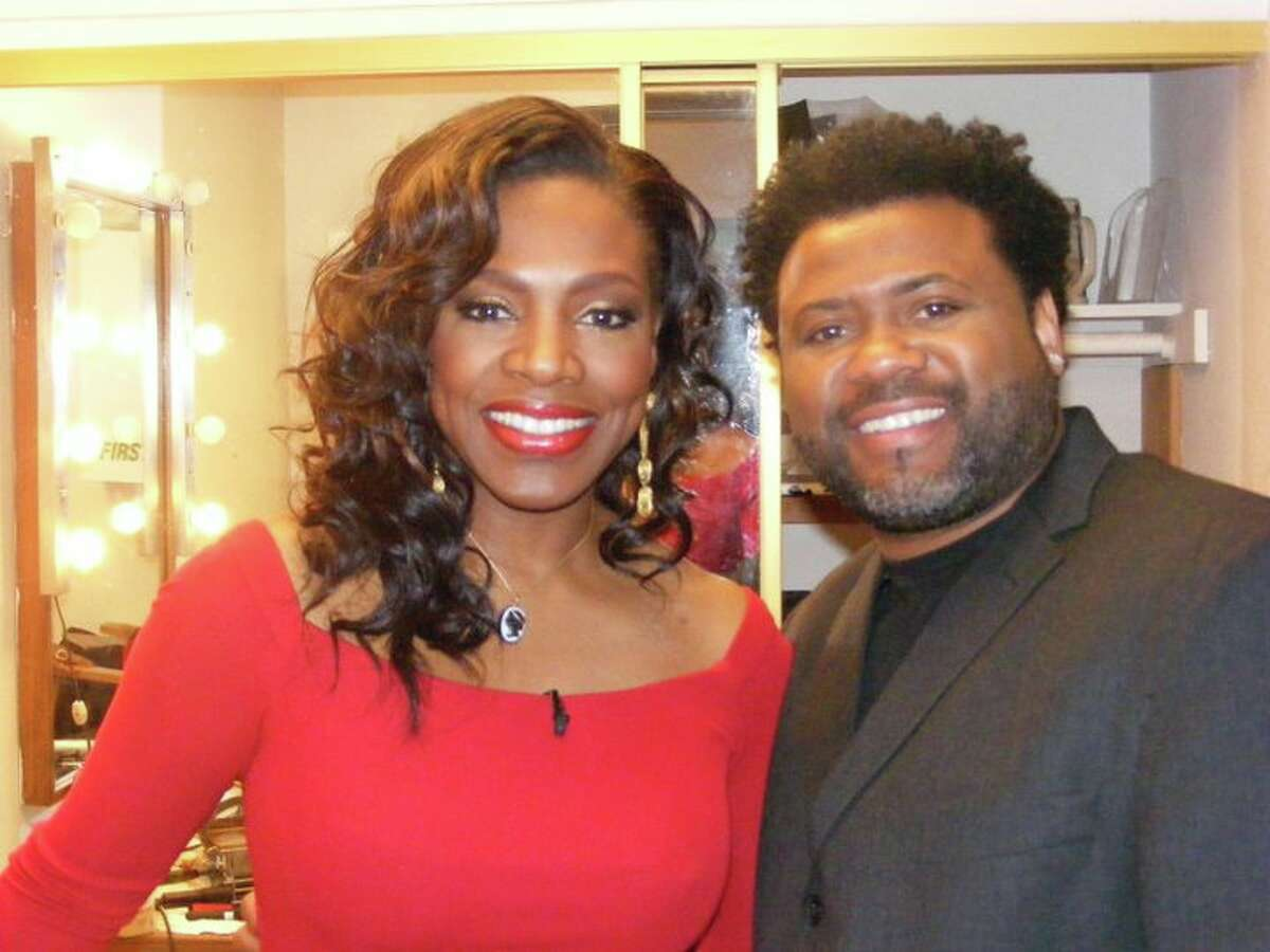 Actress Sheryl Lee Ralph and Houston makeup artist Monsieur Walzer, who recently died from a stroke at age 55.