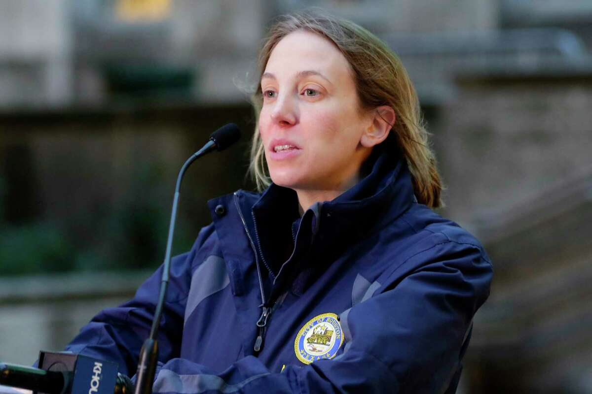 City Councilmember Abbie Kamin speaks at a press conference in December. Kamin spearheaded an effort to create a women's commission to examine leave policies and other issues. Council approved the commission Wednesday.