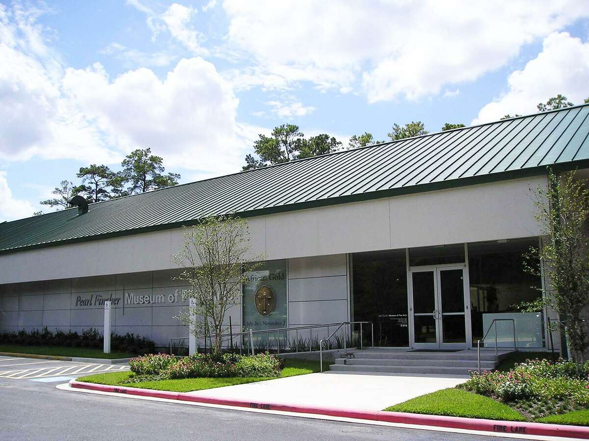 The Pearl Fincher Museum of Fine Arts is located at 6815 Cypresswood Drive in Spring.