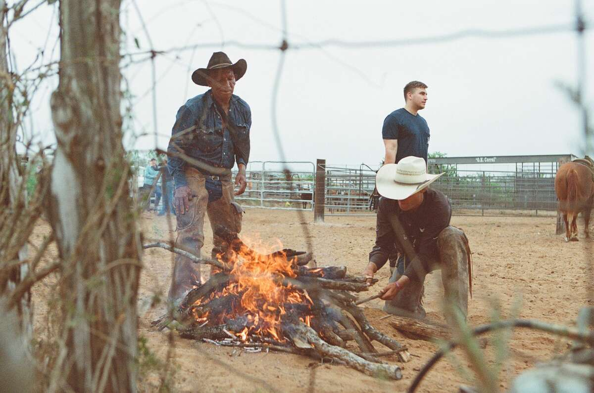 The Rodriguez brothers from the documentary film Easteños: True Cowboys of the Wild Horse.