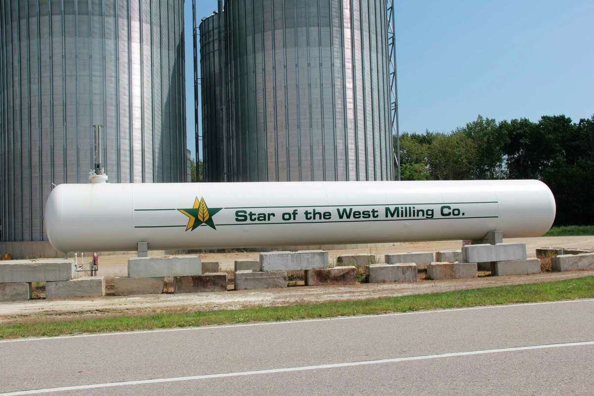 Star of the West Milling's Rapson location is one of many that will benefit from a new partnership with Land O'Lakes-affiliated Truterra. The arrangement allows Star of the West to use a new tool to help farmers adopt sustainable growing methods. (Robert Creenan/Huron Daily Tribune)