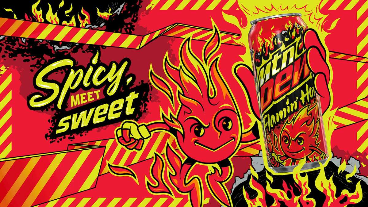 MTN DEW Flamin' Hot is coming.