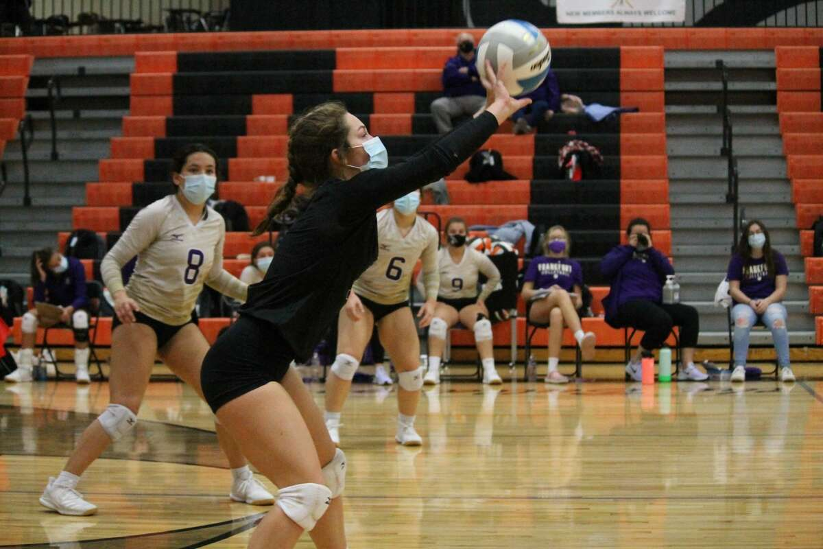 Frankfort's defense should remain a strength with returners such as libero Madisen Clouse. .