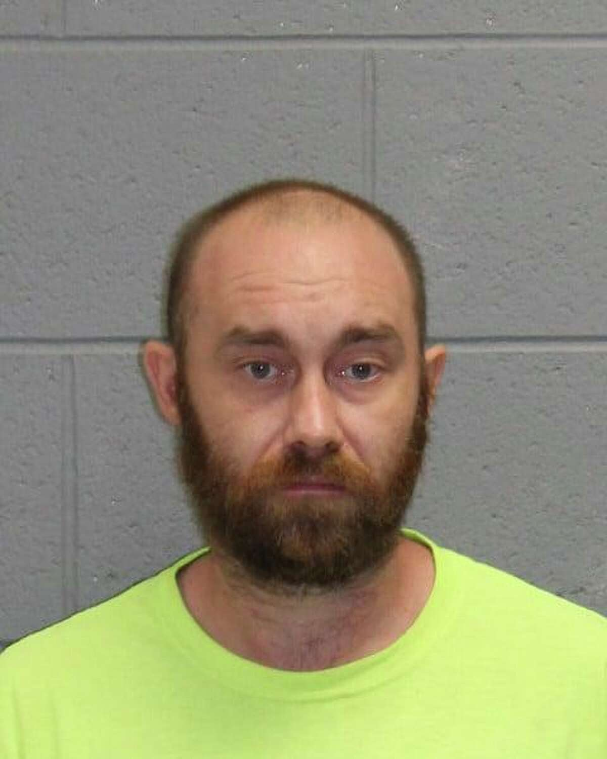 Scott Childs, 31, was arrested Wednesday after a dog he allegedly kicked had to be euthanized.
