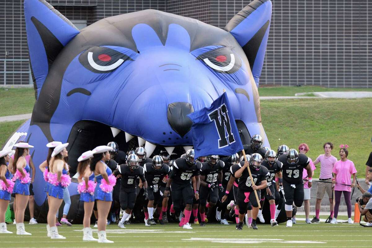 The Westside Wolves take the field on Friday, October 4, 2019 at Delmar Stadium, Houston, TX.