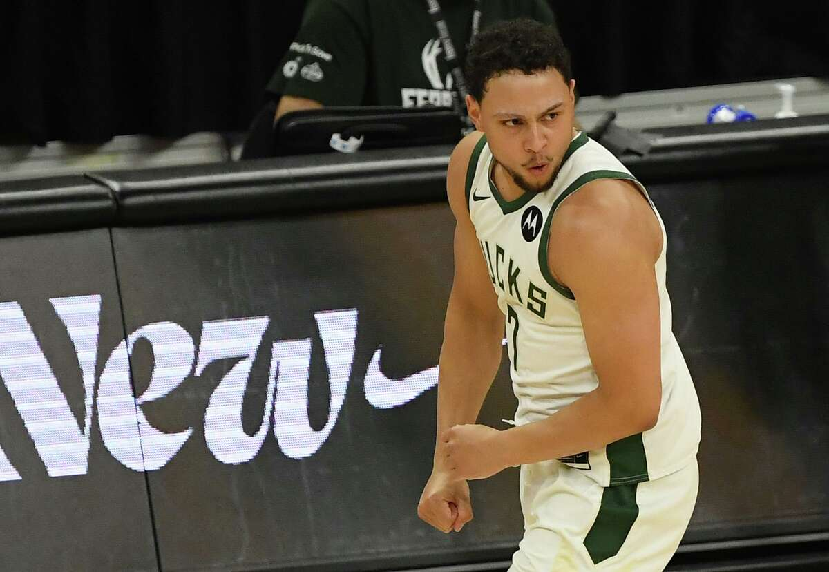 Bryn Forbes spent the first four seasons of his NBA career with the Spurs. He played in 90 games during the Bucks' title run.
